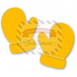 Fustella Sizzix Originals Yellow Guanti neve