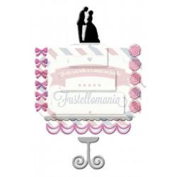 Fustella metallica Torta nuziale matrimonio