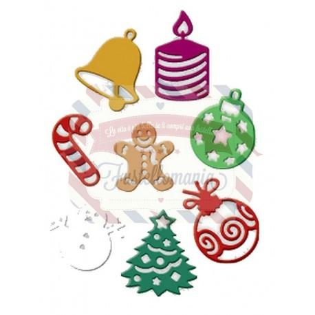 Fustella metallica Oggetti di Natale