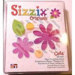 Fustella Sizzix Originals Fiori e foglie