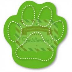 Fustella Sizzix Originals Green Impronta zampa cane