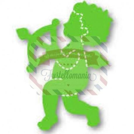 Fustella Sizzix Originals Green Cupido
