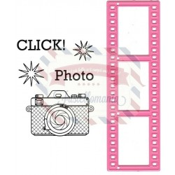 Fustella metallica Marianne Design Collectables Filmstrip