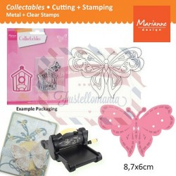 Fustella metallica Marianne Design Collectables Tiny's butterflies 2