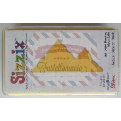 Fustella Sizzix Originals Yellow Montagne