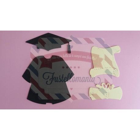 Fustella Laurea e diploma