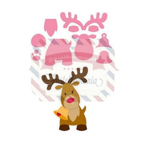 Fustella metallica Marianne Design Collectables Eline's Reindeer
