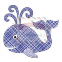 Fustella metallica Balena patchwork