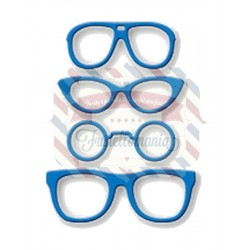 Fustella metallica Occhiali da sole