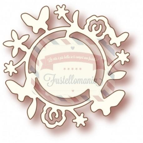 Fustella metallica Flower Circle