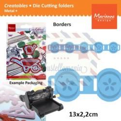 Fustella metallica Marianne Design Creatables model 2