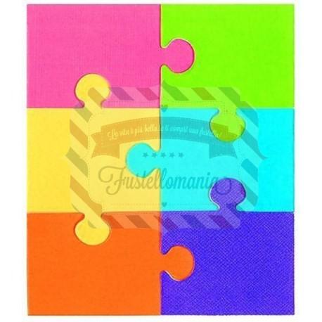 Fustella Sizzix Bigz Puzzle 1