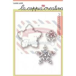 Fustella metallica Fiocchi di neve 2