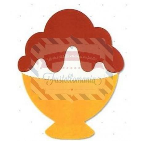 Fustella Sizzix Originals Ice cream sundae