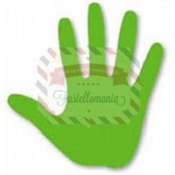 Fustella Sizzix Originals Green Impronta mano