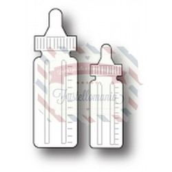 Fustella metallica Memory Box Baby Bottles