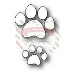 Fustella metallica PoppyStamps Kitty Paw Prints
