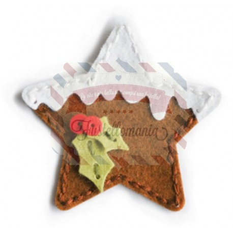 Fustella metallica Memory Box Plush Frosted Star