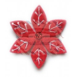 Fustella metallica Memory Box Plush Small Poinsettia