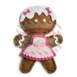 Fustella metallica Memory Box Plush Gingerbread