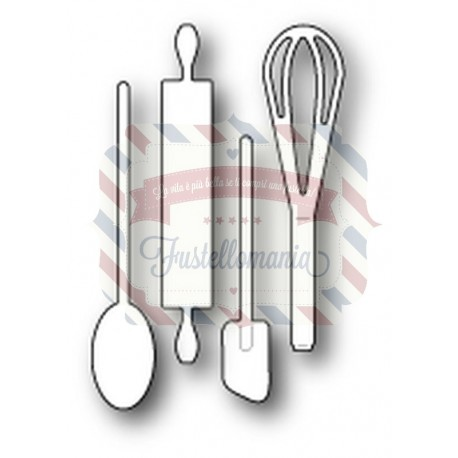 Fustella metallica Memory Box Kitchen Essentials