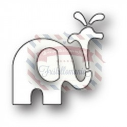 Fustella metallica PoppyStamps Small Elephant