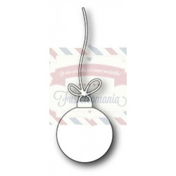 Fustella metallica PoppyStamps String Ornament