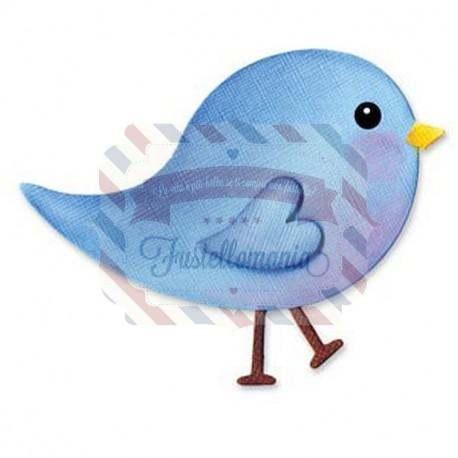 Fustella Sizzix Bigz Uccellino baby bird