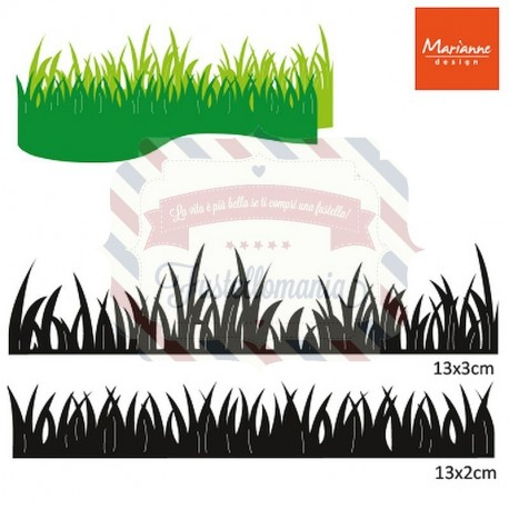 Fustella metallica Marianne Design Craftables Grass