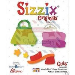 Fustella Sizzix Originals Borsa scarpa e cappello