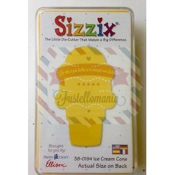 Fustella Sizzix Originals Yellow Cono gelato