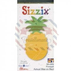 Fustella Sizzix Originals Yellow Ananas