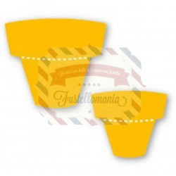 Fustella Sizzix Originals Yellow Vasi