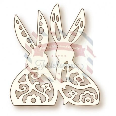 Fustella metallica Bunny Love