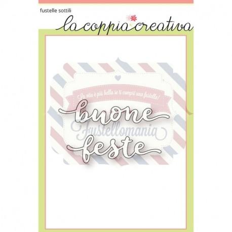 Fustella metallica Buone Feste 2
