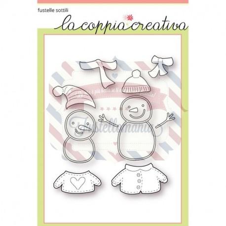 Fustella metallica Pupazzi di neve