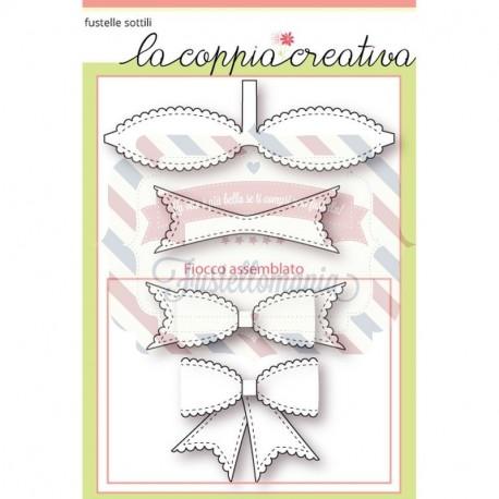 Fustella metallica Fiocco decorativo