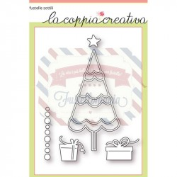 Fustella metallica Albero di Natale