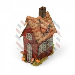 Fustella Sizzix BIGz XL Tim Holtz Village Brownstone