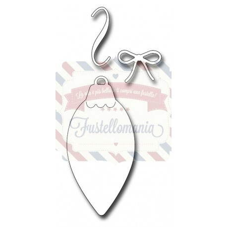 Fustella metallica Pinecone Ornament Background
