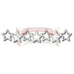 Fustella metallica Star Line