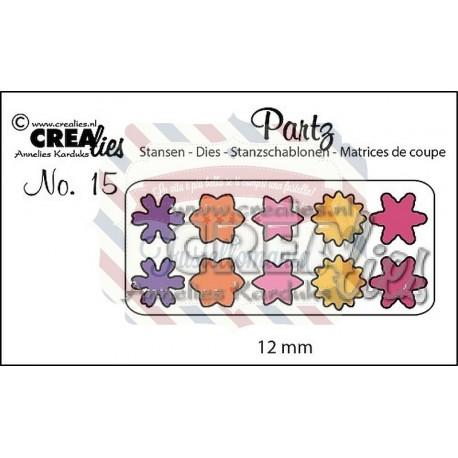 Fustella metallica Crealies Partz 15