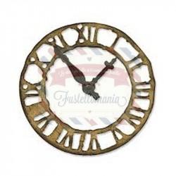 Fustella Sizzix Bigz Tim Holtz Weathered Clock