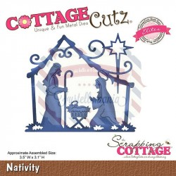 Fustella metallica Cottage Cutz Nativity