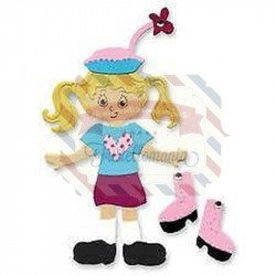 Fustella Sizzix Bigz Dress Ups Teen Girl Outfit
