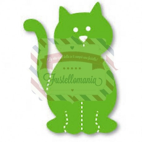 Fustella Sizzix Originals Green Cagnolino