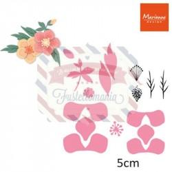 Fustella metallica Marianne Design Collectables Eline's Helleboras