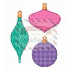 Fustella metallica Patchwork Ornamenti di Natale