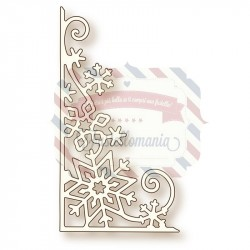 Fustella metallica Snowflake Corner