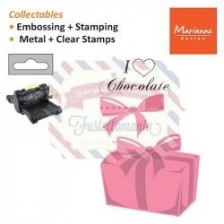 Fustella metallica Marianne Design Collectables Box of Chocolate